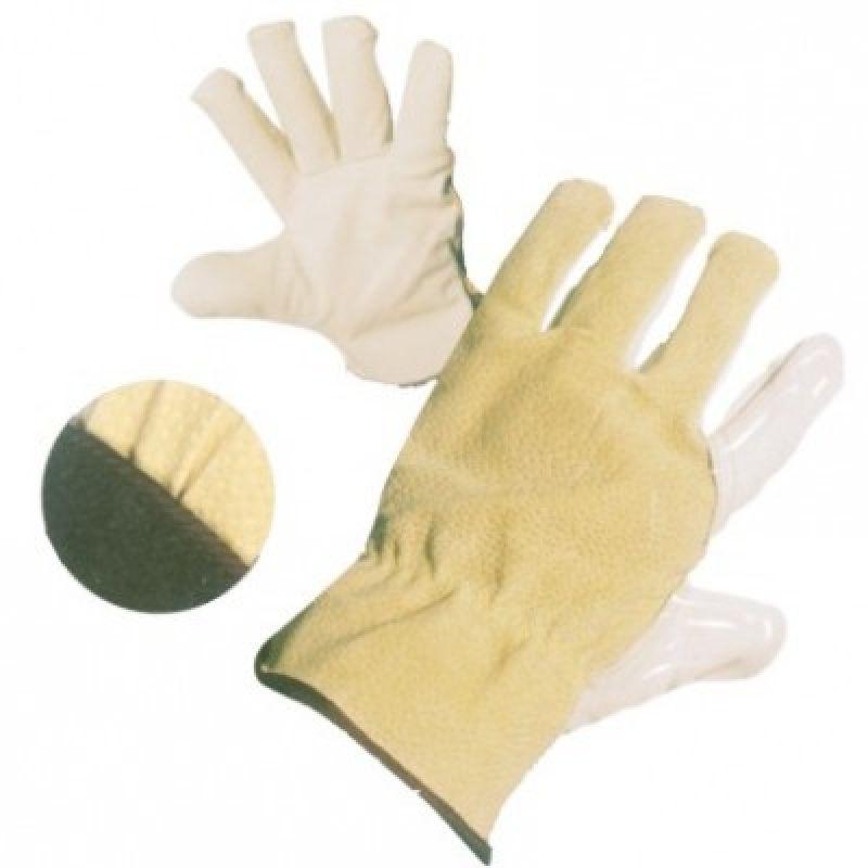 a2e375bffa0 Pracovní rukavice celokožené Celokožené Pracovní zimní rukavice HERON WINTER